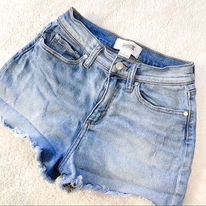 VS PINK JEAN DENIM SHORTS